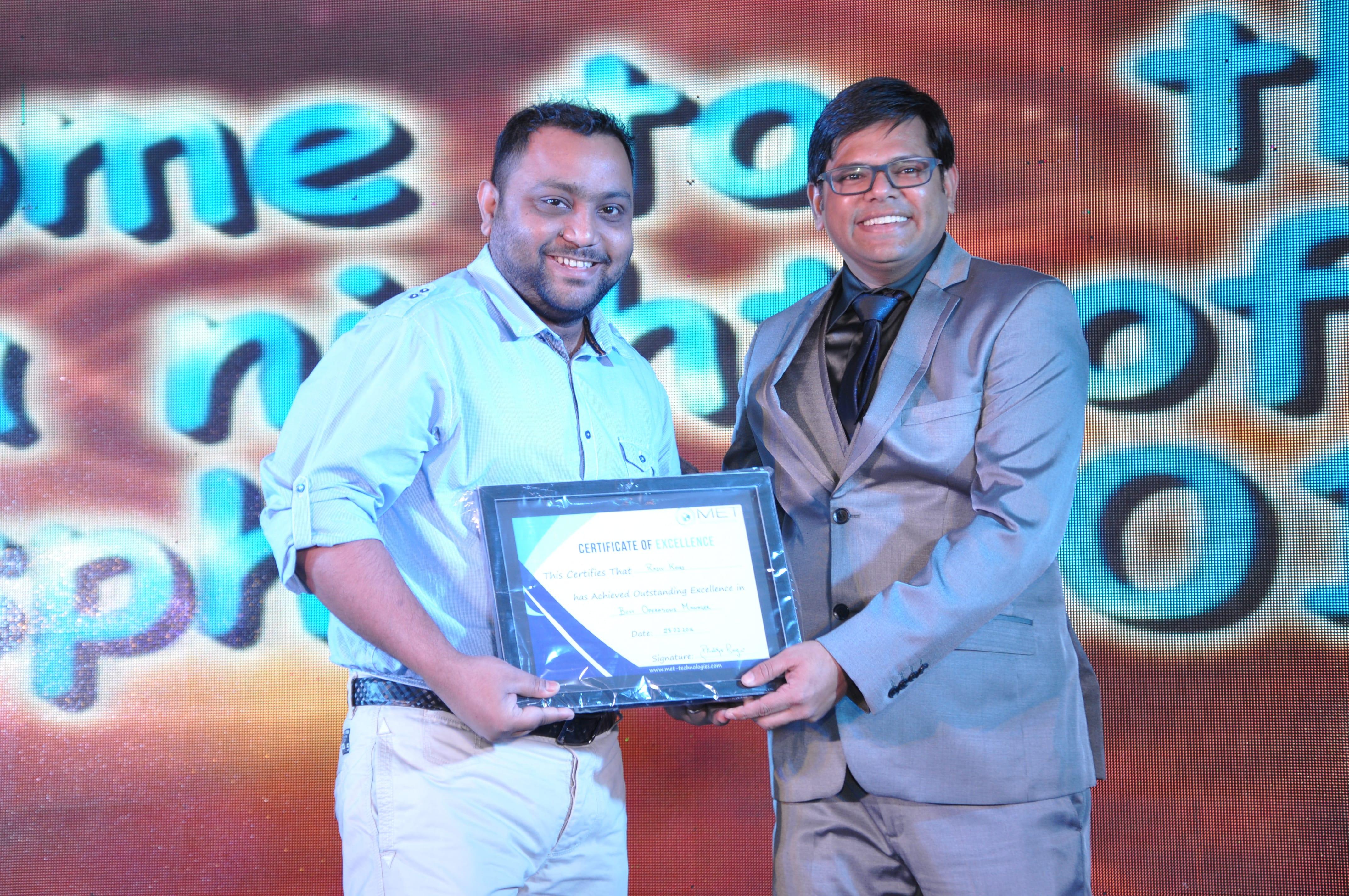 Awarded by Gaurav Gupta