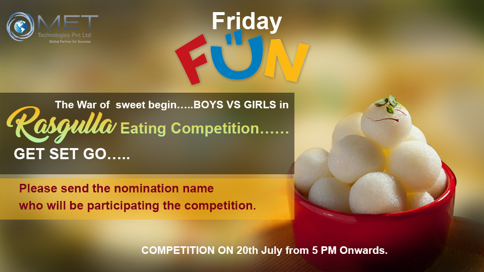 Rasgulla Eating Competition